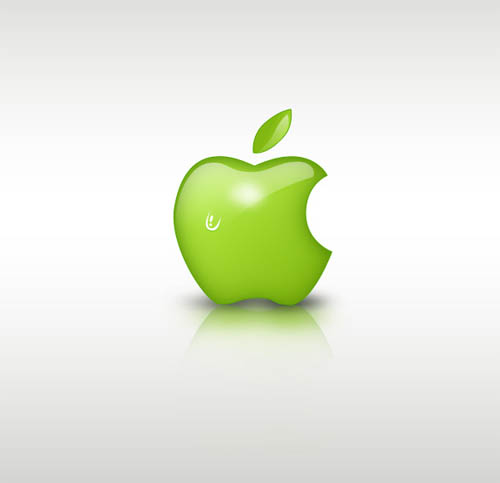 Green Apple Style Design