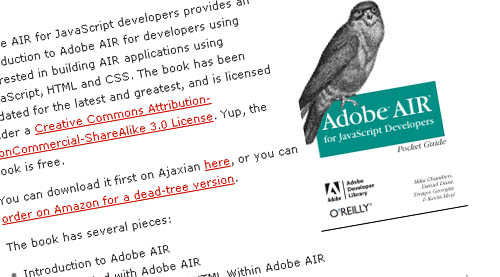 Adobe AIR for JavaScript Developers Pocketguide
