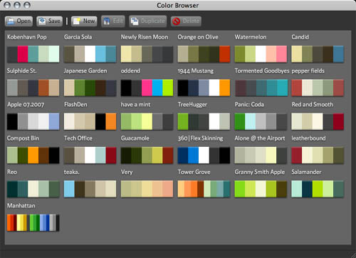 colorbrowser