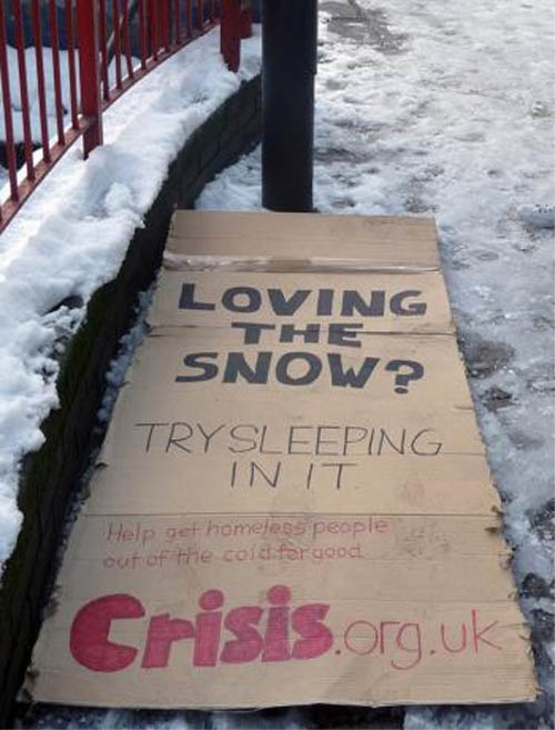 Crisis: Snow bed