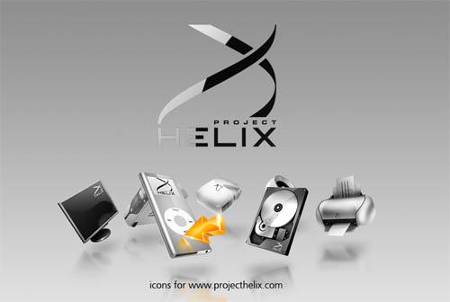 Helix icons