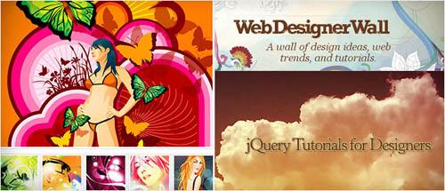jQuery Tutorials for Designers