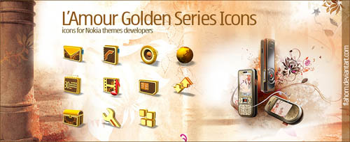 L'Amour Golden Series Icons