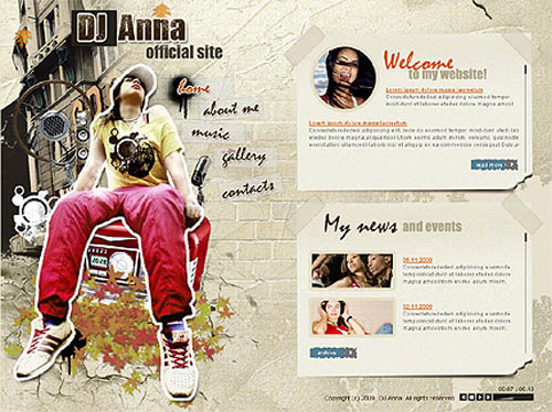 New web design trends of 2009
