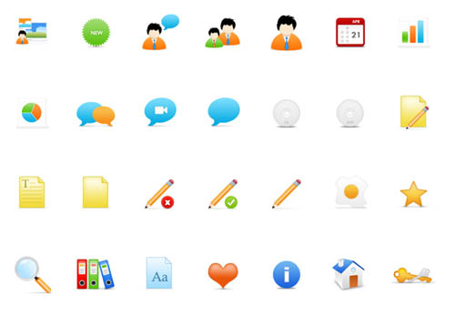 On-Stage: Free Vector PSD Icon Set