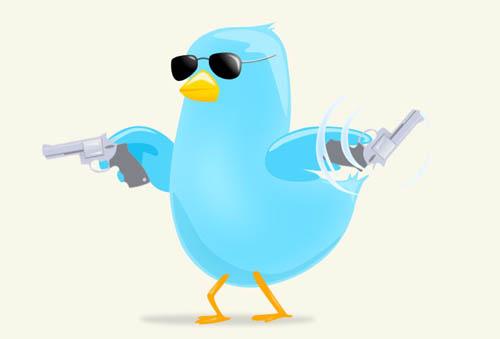 RocknRolla style twitter icon tutorial