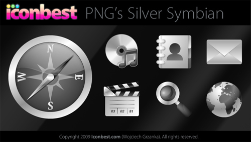 Silver-Symbian-Icons