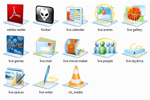 Windows 7 base icons