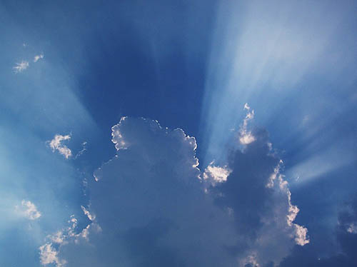 Cloud Shadows and Rays