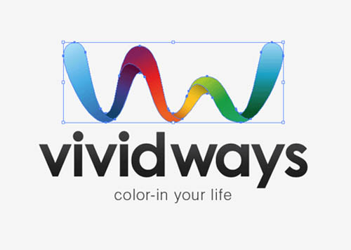 Logo Design Process and Walkthrough for Vivid Ways