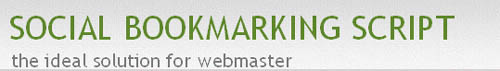 Social Bookmarking Script