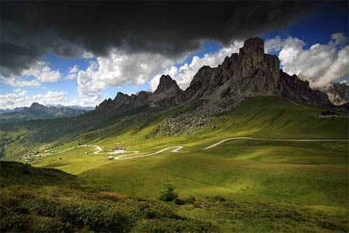 Strolling on the Dolomites