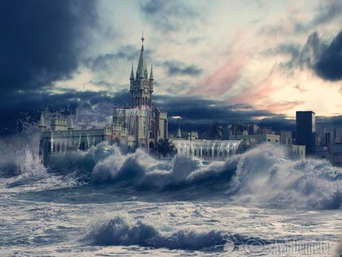Wonderful Fantasy Landscape Artwork
