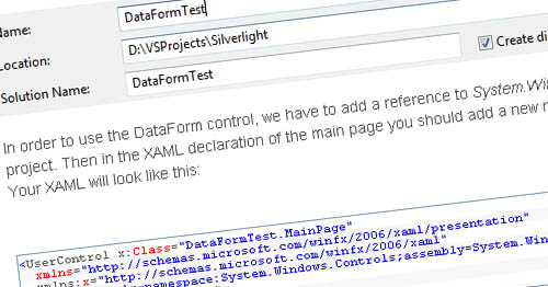 Creating Rich Data Forms in Silverlight 3 - Introduction