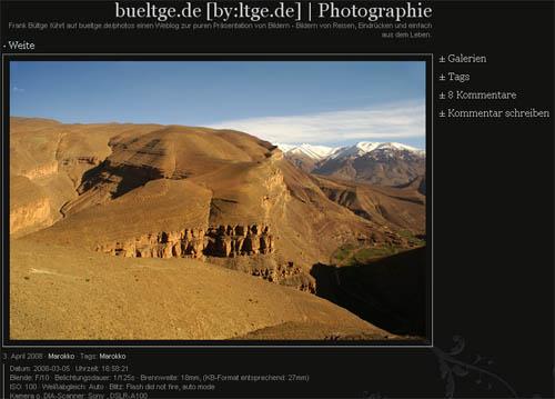 PhotoBlog Theme for WordPress