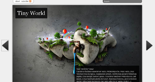 Viewport Free WordPress Theme