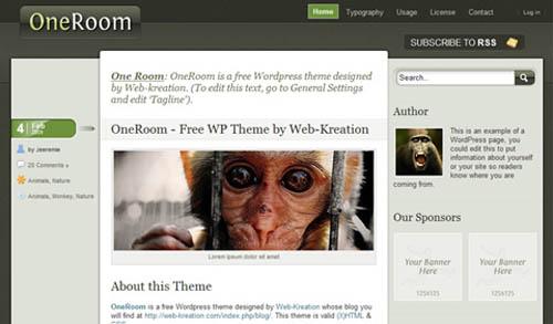 100 Amazing Free WordPress Themes for 2009