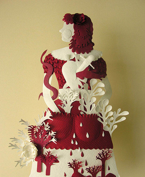 100 Extraordinary Examples of Paper Art