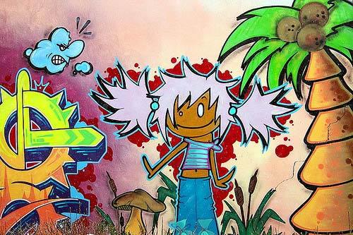 30+ Amazing Examples of Graffiti Artworks