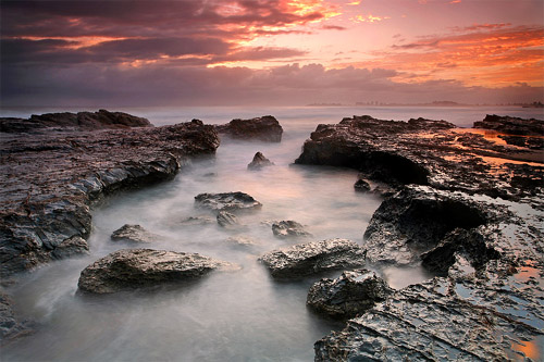 Currumbin Sunrise by Beau Mitchell