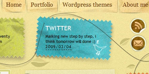 Showcase of Twitter Integration on Blogs