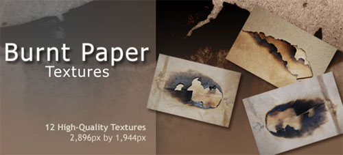 12 Free & High Quality Burnt Paper Textures