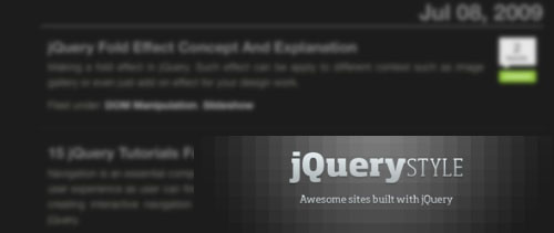15 Website for jQuery Enthusiast and Addicts