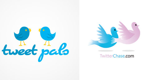 30 Awesome Twitter Inspired Logo Designs