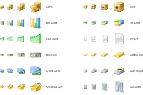 30 High-Quality Icon Sets for E-Commerce Designs