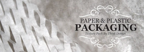 30 High-Res Paper & Plastic Packaging Textures