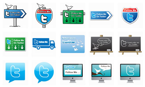 50 Free and Exclusive Twitter Icons