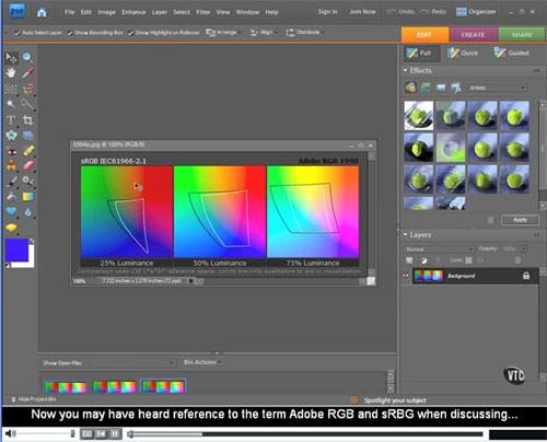 Adobe Photoshop Elements 7 Tutorial Videos