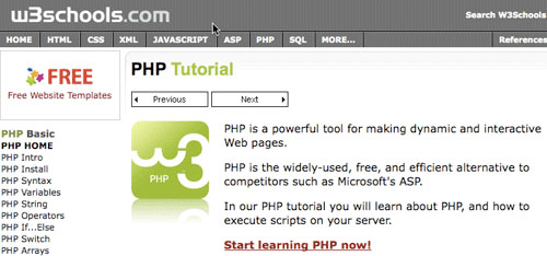 Best free PHP learning resources for beginners