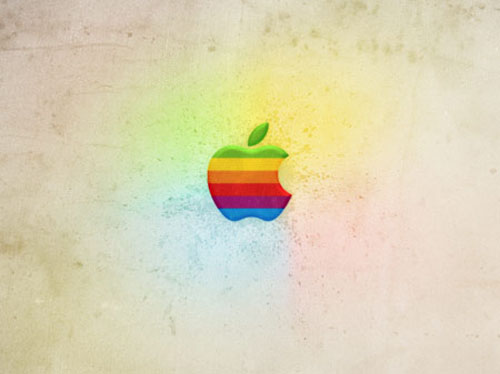 How To Create a Retro Apple Wallpaper in Photoshop
