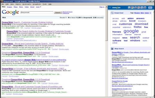 DeeperWeb GoogleSearch
