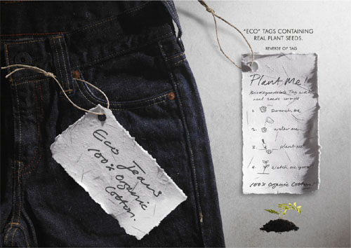 Levi's Eco Jeans: Tag