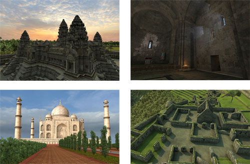 Discover The Best World Heritage Sites In 3D With Vizerra 9