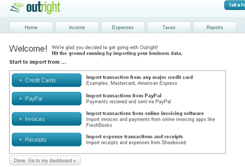 Outright, A Simple To Use Free Online Bookkeeping And Business Performance Tracking Software 6