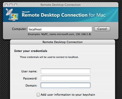 Remote Desktop Connection Client for Mac 2