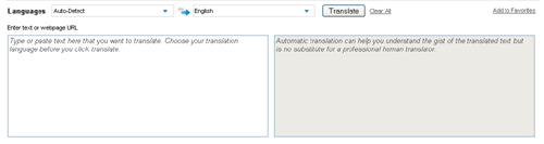 The Microsoft® Translator