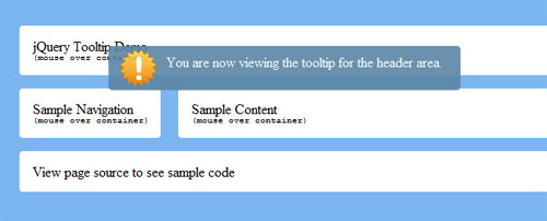 25 Useful jQuery Tooltip Plugins and Tutorials