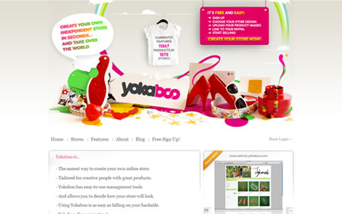 50 Inspiring Web Application and Service Web Site Designs