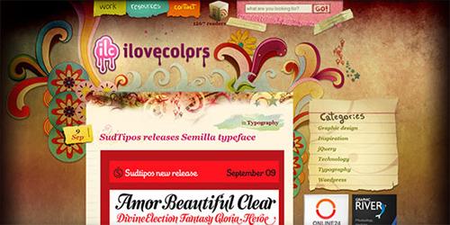 70 Fresh and Inspirational Blog Designs
