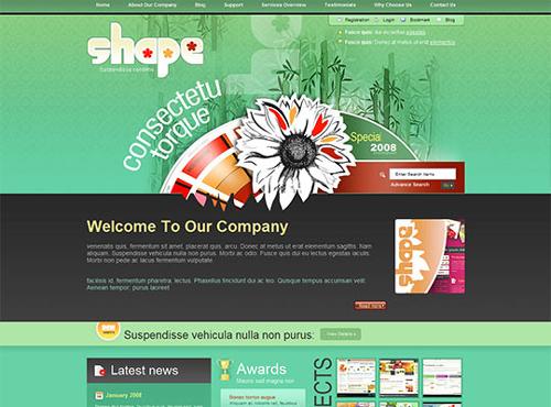 99 High-Quality Free (X)HTML/CSS Templates