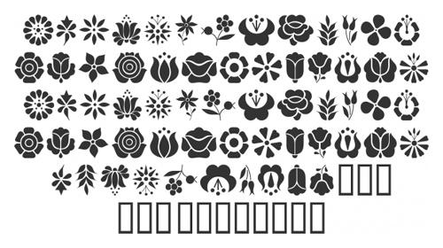 Kalocsai-Flowers