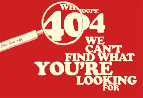 Best of Best WordPress 404 Error Page Designs
