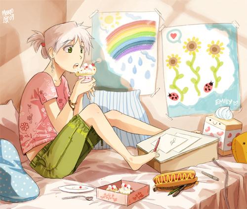 21 Adorable Pieces Of Manga Art 17