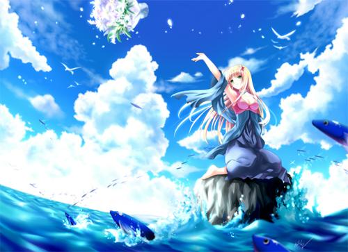 21 Adorable Pieces Of Manga Art 11
