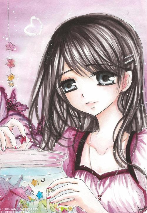 21 Adorable Pieces Of Manga Art 6