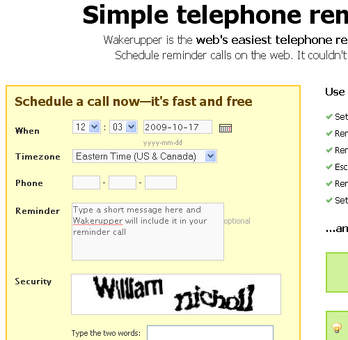 6 Excellent Web Apps To Help You Create Automatic Reminders 3